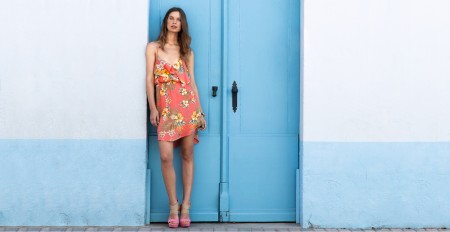 Lise Olsen for Bershka lookbook May 2012