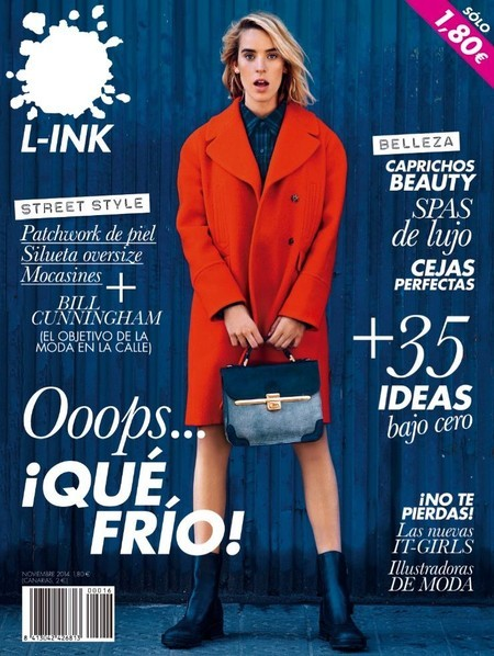 Nuria V for L_INK MAGAZINE November 2014