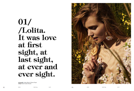Olivia Thomsen for LOVELY MAGAZINE Fall 2014