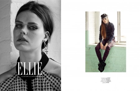Ellie Weston for Vanidad February 2013