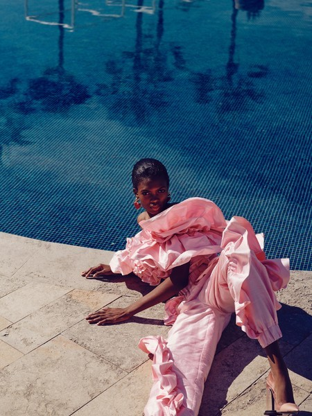 Ayobami for Vogue Arabia June 2019
