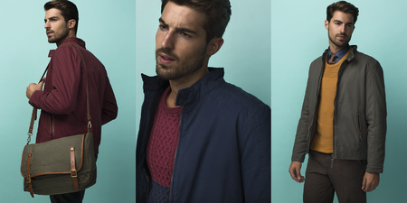 Antonio Navas for Dustin winter 2014 online campaign