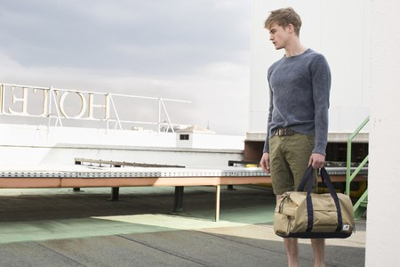 Simo Birk in Green Coast Boy SS2015 for El Corte Ingles