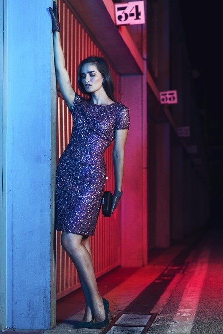 Evgenia Fedosseva in Fiesta FW2015/16 for El Corte Ingles