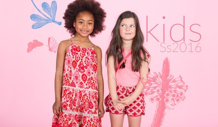 Kids Campaign SS2016 for El Corte Ingles