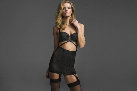 Marlijn Hoek for Sexy Lingerie in El Corte Ingles