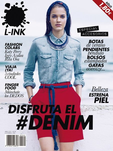 Gara Arias for L-INK MAGAZINE April Issue