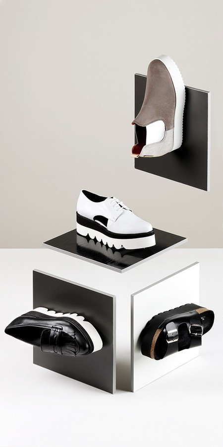 VOLUMETRIC SHOES still life for El Corte Ingles